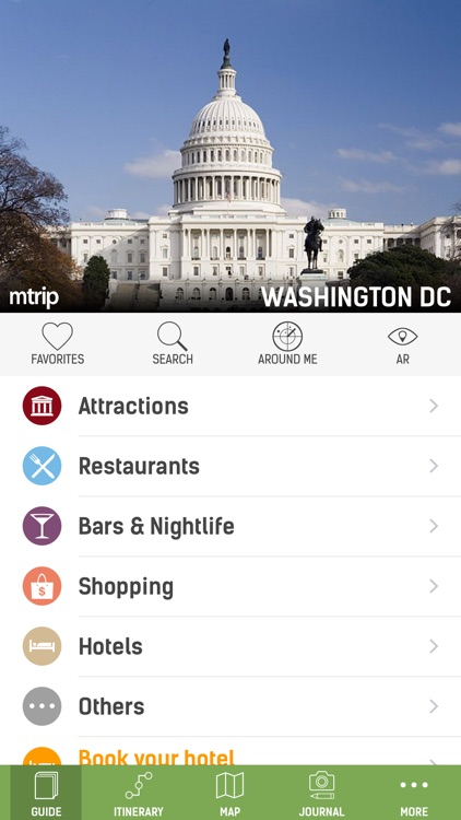 Washington DC Travel Guide (Offline Maps) - mTrip