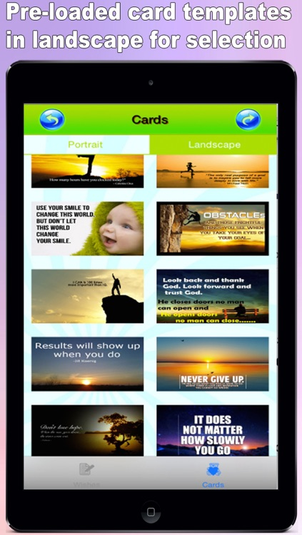 Best Motivation Cards Maker - Customise and Send Motivation eCards with Pre-loaded Templates, Pre-Written Messages, Emails and Social Media screenshot-1