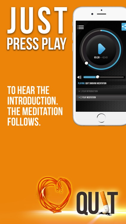 Quit Smoking Meditation – Stop Cigarettes In 30 Days With Shazzie screenshot-1