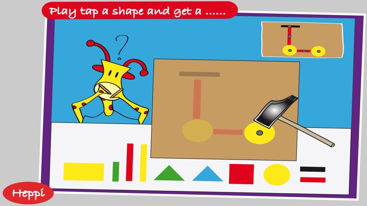Bo's School Day - FREE Bo the Giraffe App for Toddlers and Preschoolers! screenshot-3