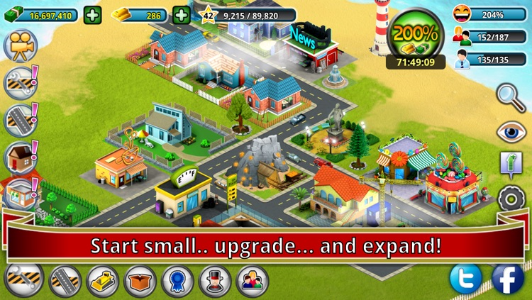 City Island: Premium - Builder Tycoon - Citybuilding Sim Game from Village to Megapolis Paradise - Gold Edition screenshot-0
