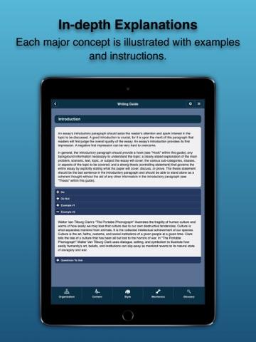 Essay Writing Guide screenshot