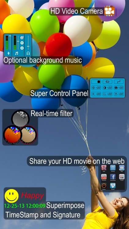 LightDV - HD Video Camera screenshot-0