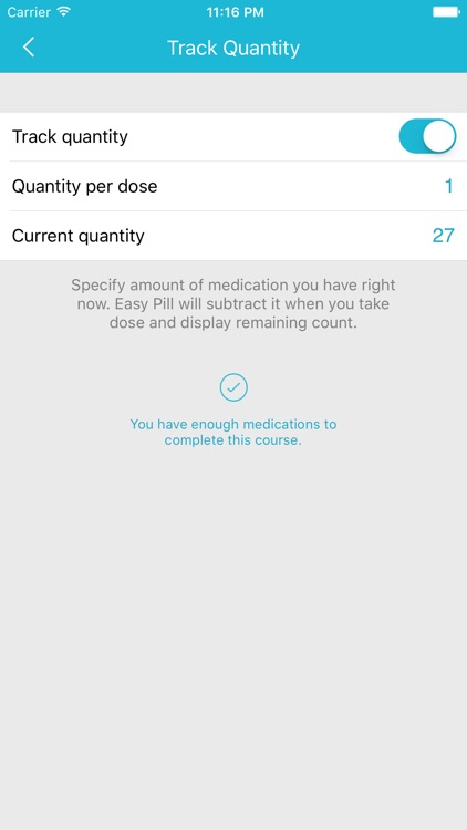 Easy Pill - medication tracker and reminder screenshot-4