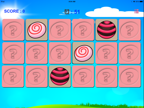 Sweet Candy Match - Lollipops Candies Card Game for Kids, Boys & Girls-ipad-1
