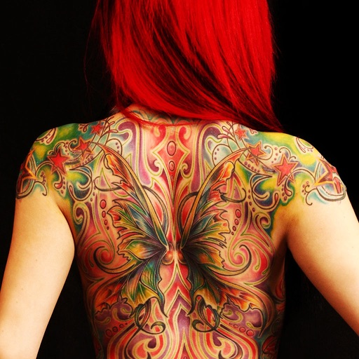 Virtual Tattoo Maker FREE - Photo Designer to add artist tattoos & fonts on yr body app logo