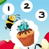 123 Counting Bakery for Children: Learn to Count the Numbers 1-10