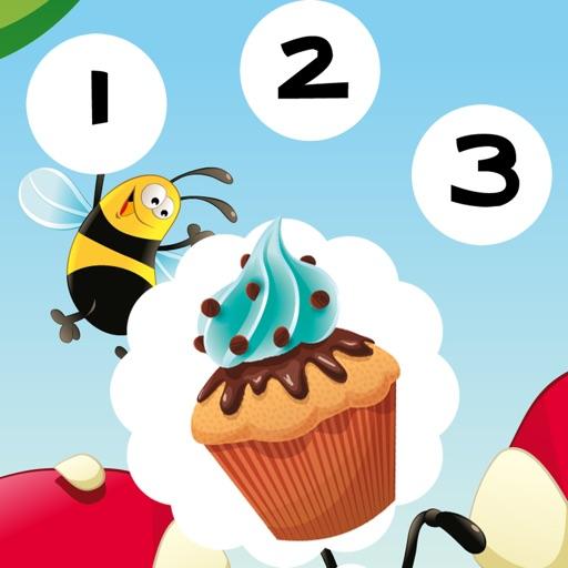 123 Активное! Игра Научиться Считать С Печеньем Для Детей