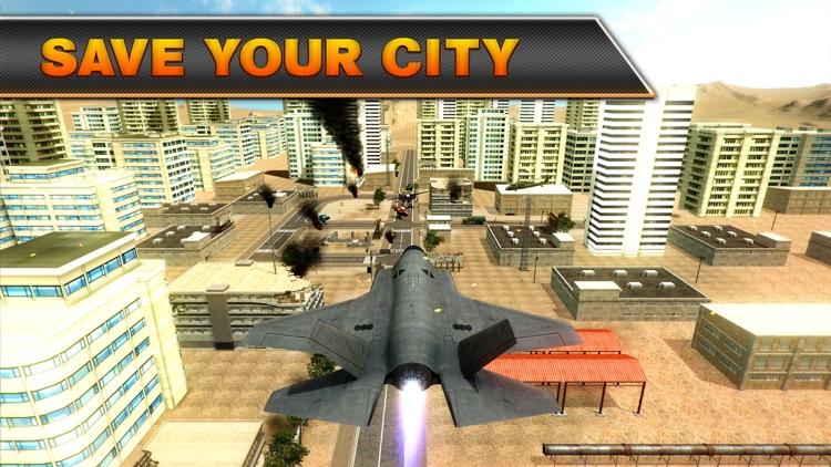 Jet Fighter Robot Wars screenshot-3