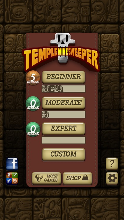 Temple Minesweeper - El Dorado Adventure with Mine Sweeper Gameplay screenshot-4