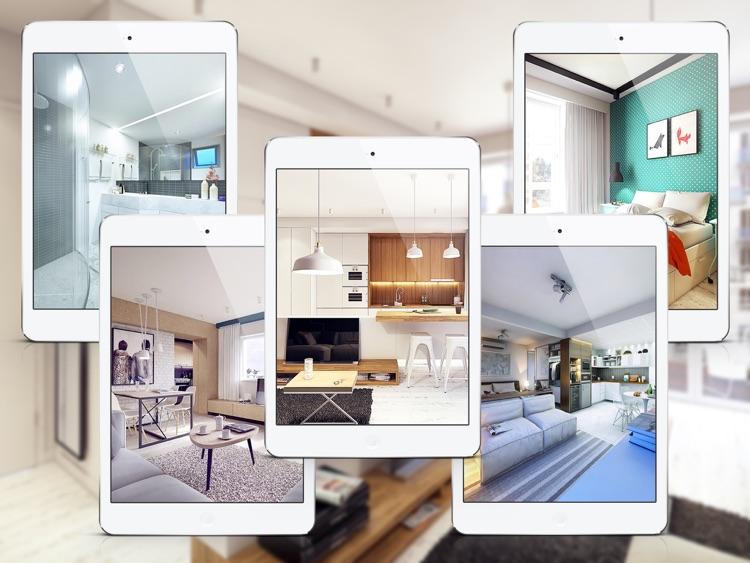 Apartment Design Ideas for iPad - Includes Floor Plans screenshot-3