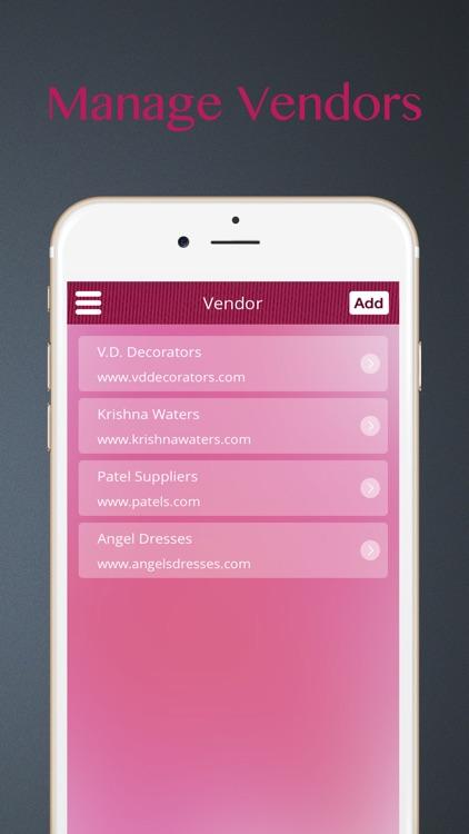 The Wedding Planner: Ideas, Wedding Countdown, Checklist, Vendors, Inspiration and More screenshot-3