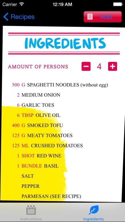 Vegan Cooking screenshot-3