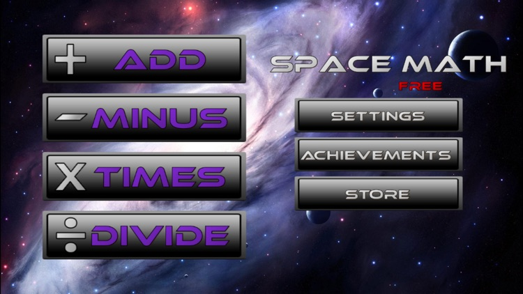Space Math Free! - Math Game for Children (and Adults!) screenshot-4