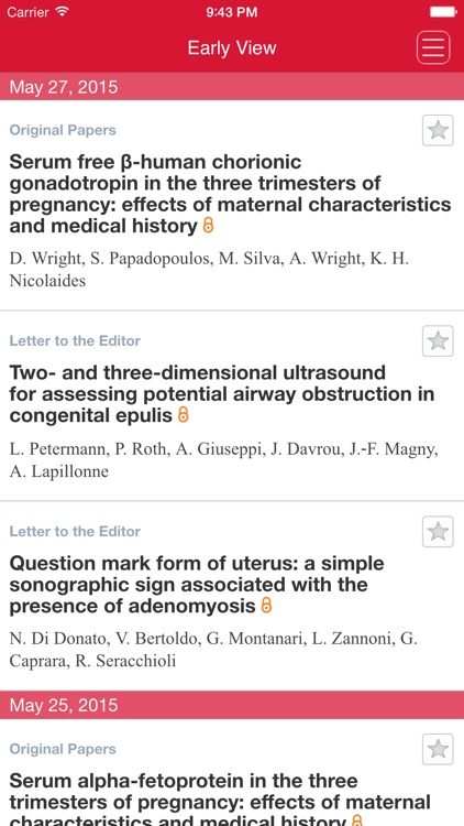 Ultrasound in Obstetrics and Gynecology App
