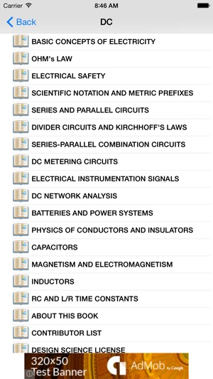 Lessons In Electric Circuits on the App Store