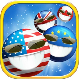Bubble Pop Mania - smash hit flag heroes legend game free