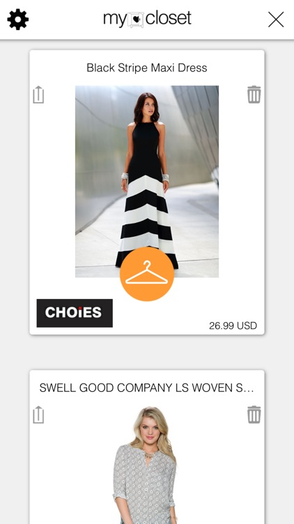 To My Closet - Clothes, Style, Trends And Apparel Shopping Wishlist screenshot-3