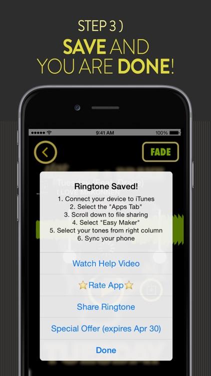 Easy Ringtone Maker - Create Music Ringtones screenshot-3
