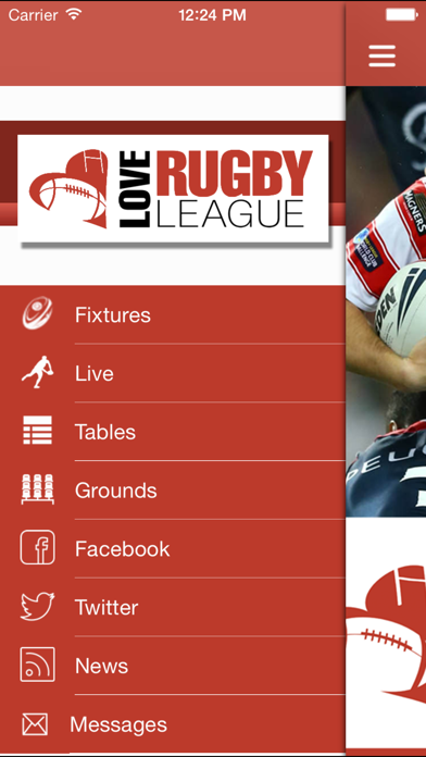 Love Rugby League screenshot one