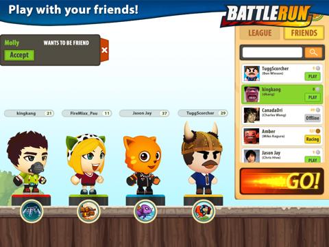 Скачать игру Боевые гонки (Battle Run)