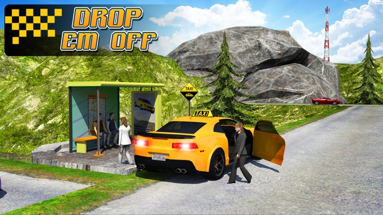 Taxi Driver 3D : Hill Station screenshot-4