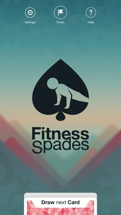Fitness Spades: Bodyweight Challenge Game to help you burn fat with body shred workouts screenshot-0