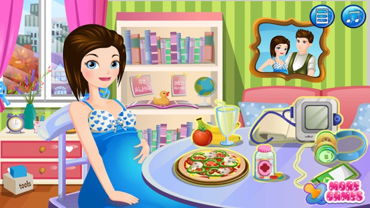 Pregnant Mommy : Care Game