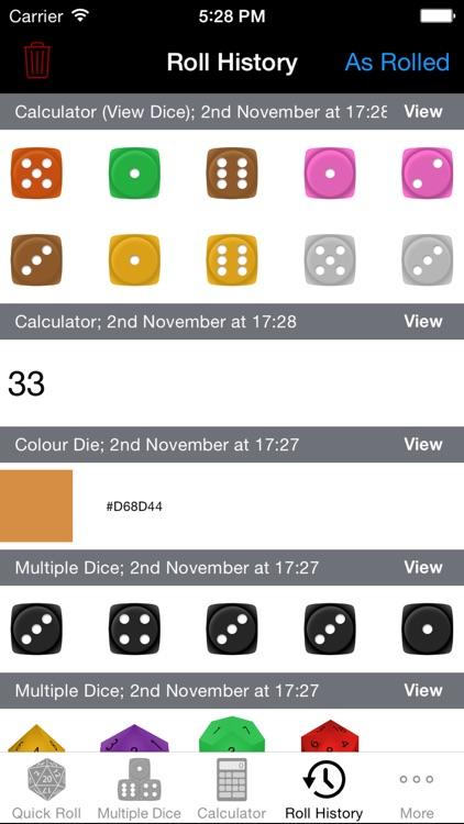 Natural 20 - for Rolling Dice screenshot-4