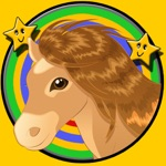 ponies dart game for kids - free game