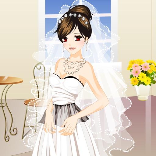 害羞的新娘换装