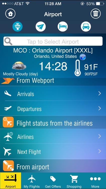 Orlando Airport (MCO) Flight Tracker Radar