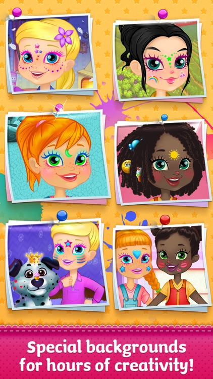 Face Paint Party - Kids Coloring Fun screenshot-4