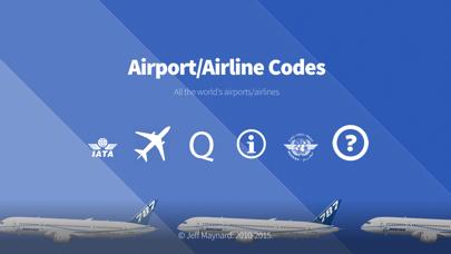 Airport Airline Codes Databaseのおすすめ画像1