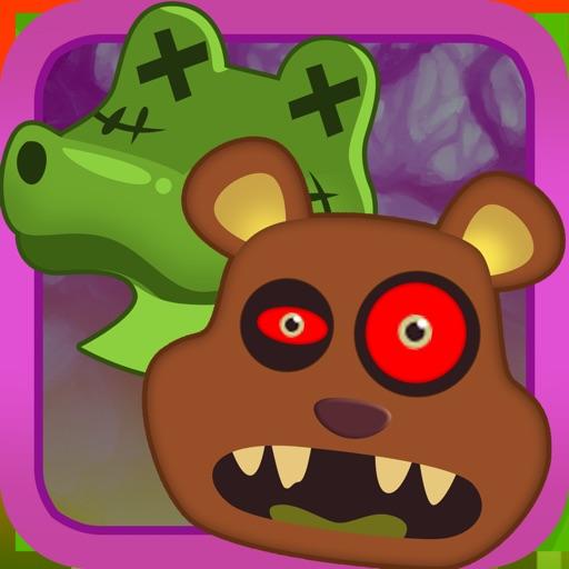 Bubble Zombie Animal Safari Shooter iOS App