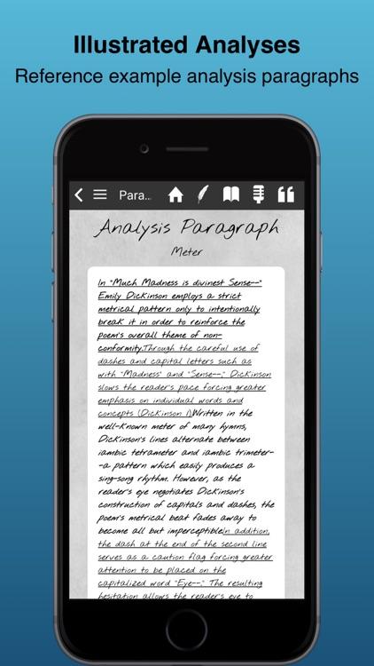 Literary Analysis Guide screenshot-3