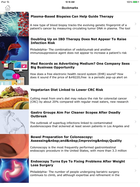 Gastroenterology & Endoscopy News screenshot-4