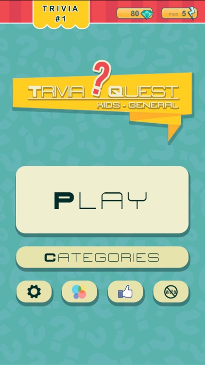 Trivia Quest™ for Kids - general trivia questions for children of all ages
