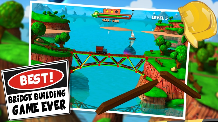 Bridge Builder Simulator - Real Road Construction Sim screenshot-0