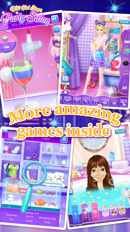Party Salon - Girls Makeup & Dressup Games screenshot-4