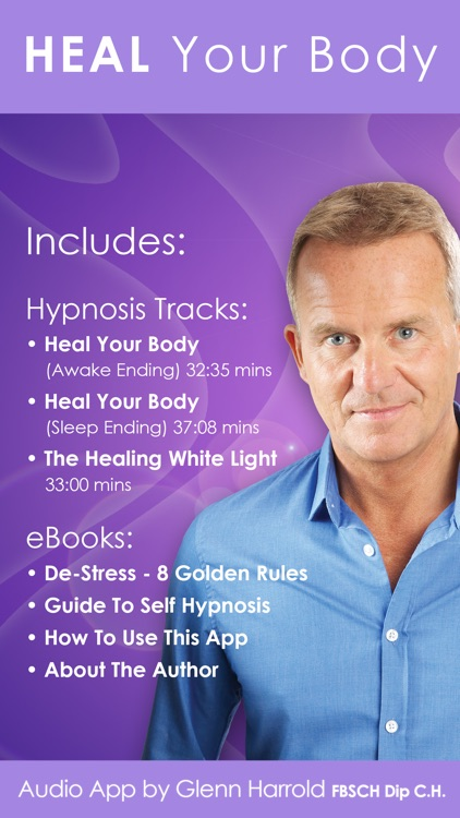 Heal Your Body by Glenn Harrold: Hypnotherapy for Health & Self-Healing screenshot-0