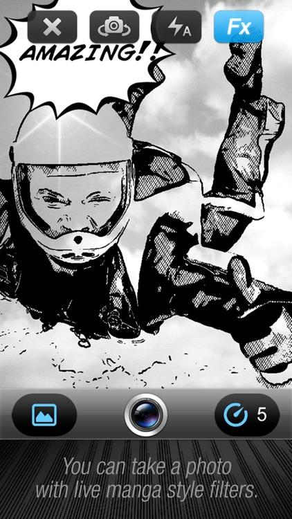 Comic Book Camera free