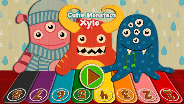 ‎Little Xylo - Cutie Monsters Xylophone Fun Screenshot