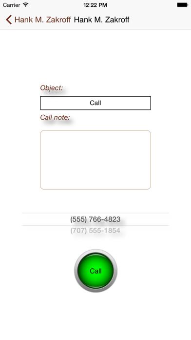 連絡人和業務屏幕截圖3