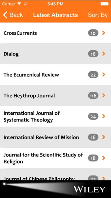 Religion & Theology Spotlight screenshot two