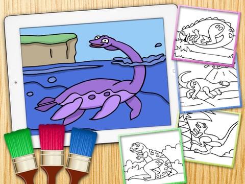 Colorear Dinosaurios Juegos De Dinos Para Pintar Premium App