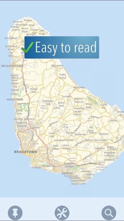 Barbados Travelmapp