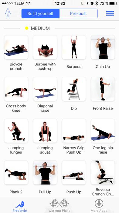 Virtual Trainer Bodyweightのおすすめ画像2