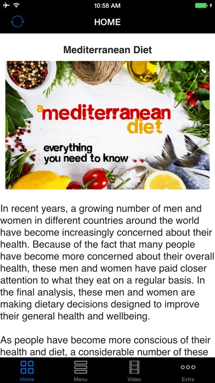 Healthy Mediterranean Diet & Recipes - Best Easy Weight Loss Diet Plan Guide & Tips For Beginners To Experts screenshot-0