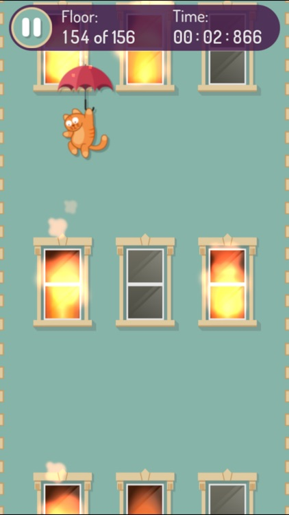 Falling Cat - help the cat land to safety